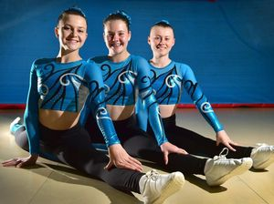 Well-earned silver in San Diego for Buderim aerobic gymnasts
