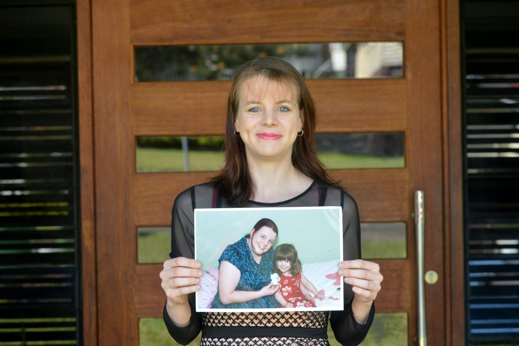 WEIGHT LOSS: Tamara Andrews lost more than 40kg and feels a million dollars. Photo Craig Warhurst/ The Gympie Times