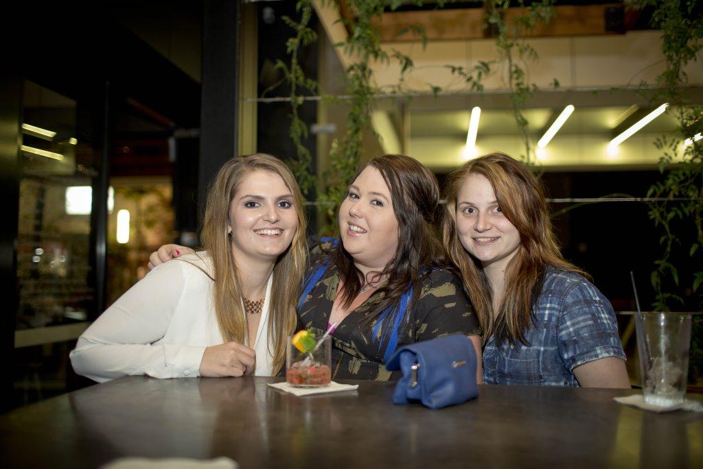 Danielle van der Merwe, Jade Reynolds and Amy Riddle.