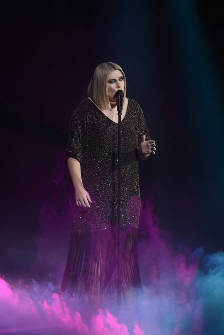 The Voice Australia winner Ellie Drennan performs her original song Ghost during the show's grand final.