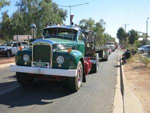Albury to Alice convoy