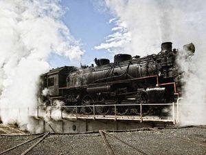 Sold out steam train trip marks rail travel anniversary
