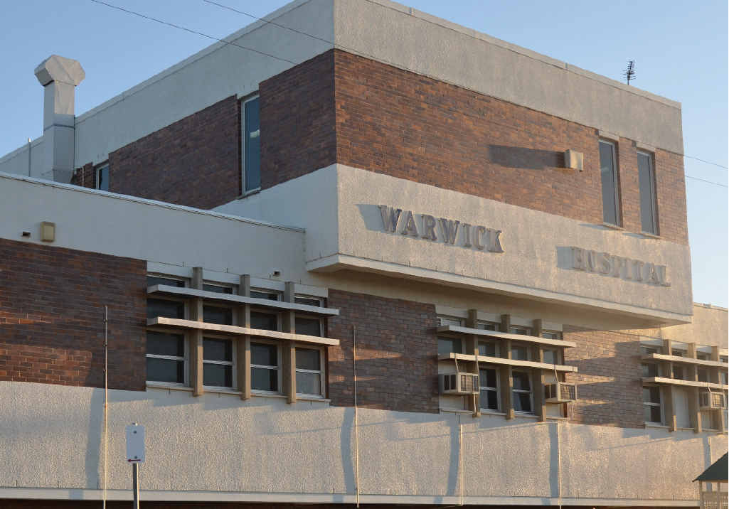 IN THE WORKS: Warwick Hospital will undergo expansions and upgrades to facilities and services over the next 10 years.