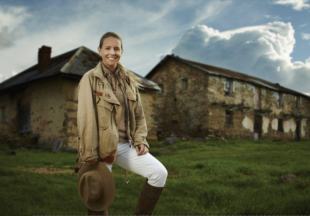 Sibella Court hosts the new TV series Restoration Australia.