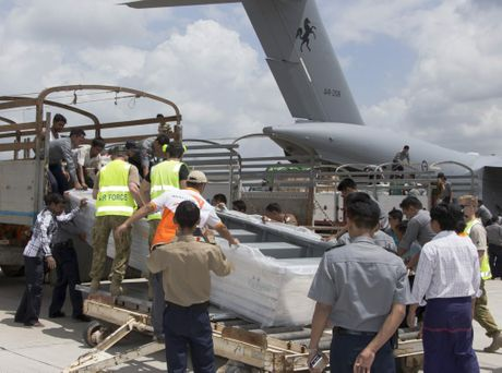 CALL TO ACTION: The ADF completes its second and final mission into flood affected Burma with a C-17 Globemaster delivering critical humanitarian aid into Rangoon.
