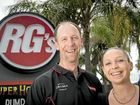 TIME FOR CHANGE: New general managers Justin and Katie Holman have travelled from Mt Isa hoping to get the Rocky Glen back on top.
