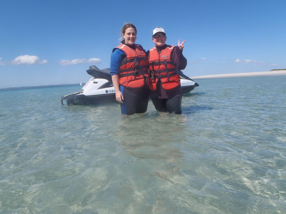 Exploring the pristine waters of Hervey Bay and surrounding Pelican Banks.