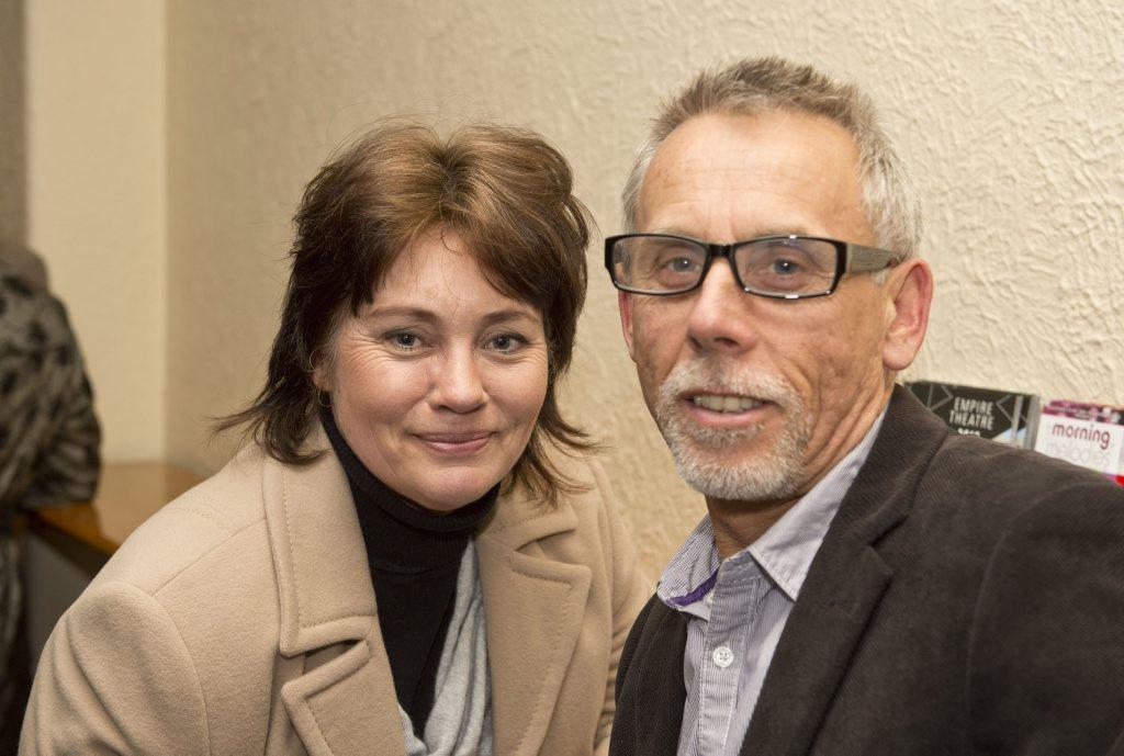 Monica and Ian Hoddinott