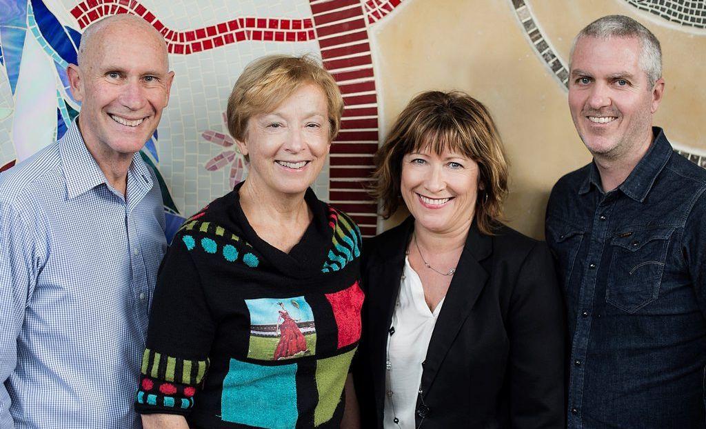 ENOVA: Founding partners l-r Steve Harris, Alison Crook, Melissa Mac Court and Patrick Halliday