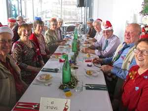 Restaurant staff create party atmosphere for Probus club