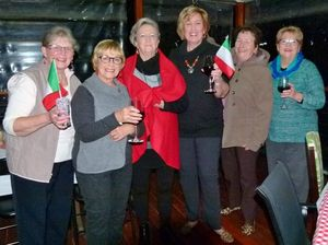 Bella Italia theme at Centenary Evening View Club meeting