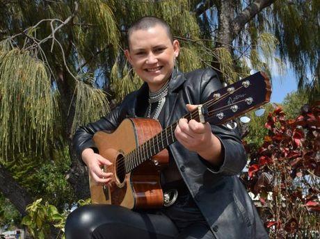 Karaoke queen Kaysahn Berthelson will perform on Thursday night.