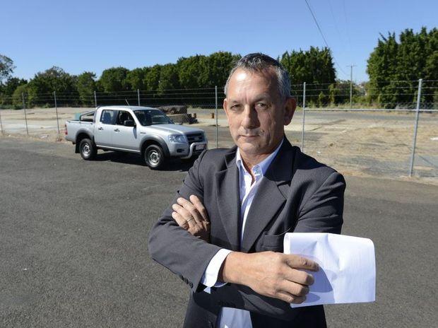 Mayoral candidate Gary Duffy