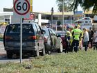 VIDEO: Minor injuries after Gladstone Rd crash yesterday