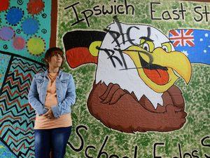 Vandals target art mural
