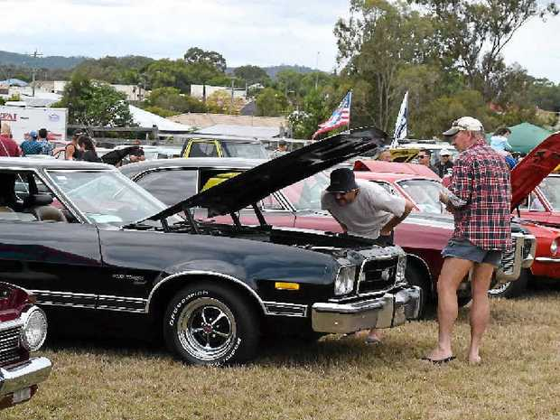 Men are always keen to see what's under the bonnet.