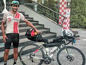 Mackay cyclist in long ride