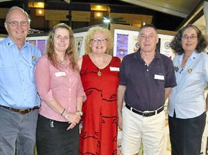 Rotary welcomes friends