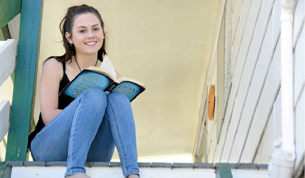 Reject Shop retail assistant Kahlia Higgins, 19.