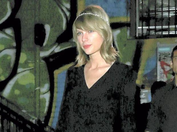 A crazed fan snuck into Taylor Swift's concert in San Diego.
