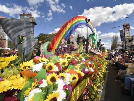 Grand Central Floral Parade is one of the biggest attractions.