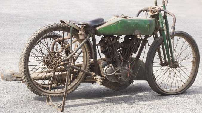 RARE AS: A 1927 Harley-Davidson 8-Valve V-Twin racer should sell later this month for a