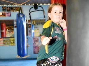 Local sisters come back kickboxing champs
