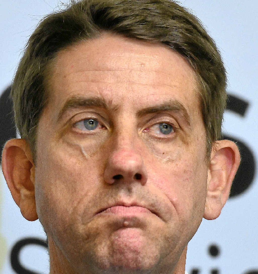 Queensland Health Minister Cameron Dick