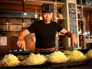 VIDEO: Japanese cuisine puts fire under foodies belts