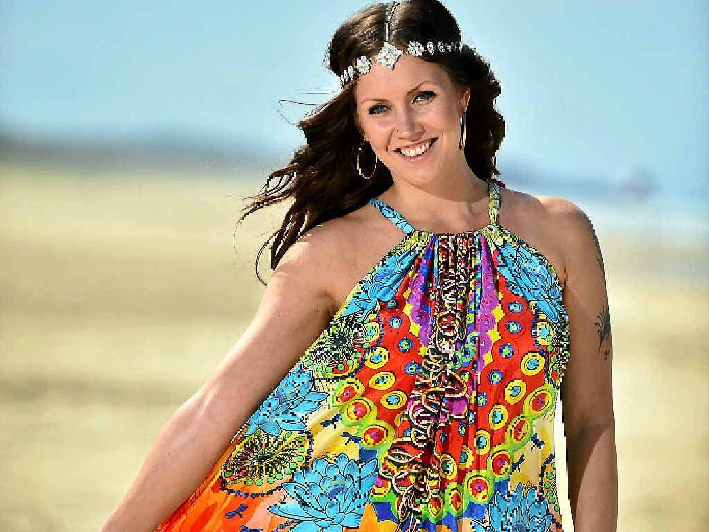 BRIGHT AND FEMININE: Evelina Jutbauge-Deely, of Soul Sanctuary, Peregian Beach.