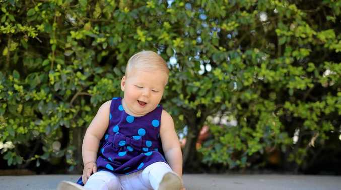 LOOKING CUTE: Alice McAndrew will be competing in the cutest baby quest this weekend.