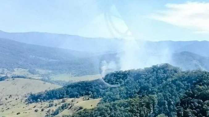 NSW Rural Fire Service volunteers have been battling a bushfire near Chillingham since Monday. It's been a busy start to the fire season, which officially began on Tuesday.