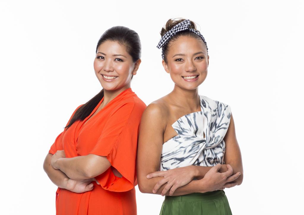 The Hotplate winners Emi Kamada and Marie Yokoyama.