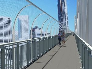 Suicide prevention barriers finally go up on Story Bridge