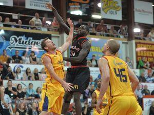Australian Indigenous All Stars team playing the Mackay Meteors