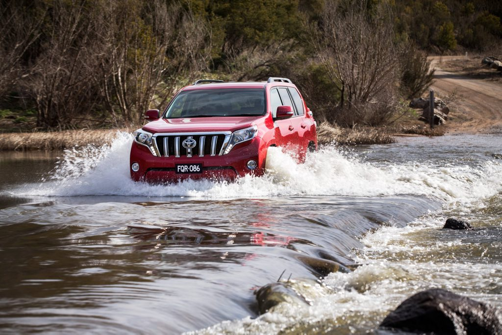 2015 Toyota Prado. Photo: Contributed