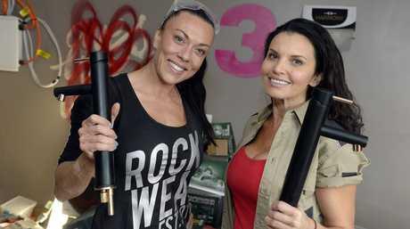The Block (Bloctagon) contestants Vonni and Suzi.