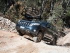 New Toyota LandCruiser Prado with 2.8-litre turbo-diesel engine. Photo: Contributed