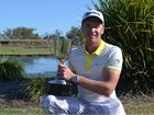 TOP ROUND: Taylor Cooper yesterday claimed the 2015 Queensland PGA Trainee Championship at Coral Cove.