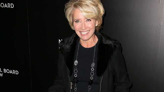 Emma Thompson is appearing in the black comedy Barney Thomspon, November 17 at the Palace Cinemas, Byron Bay.