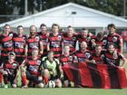 Winners (Bears) of the FNC 3rd Division grand final between the Maclean Bobcats and Tucabia-Wooli Bears at Rushforth Park South Grafton on Saturday, 5th September, 2015. Photo Debrah Novak / The Daily Examiner