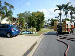 Structure fire, Stenlake Avenue