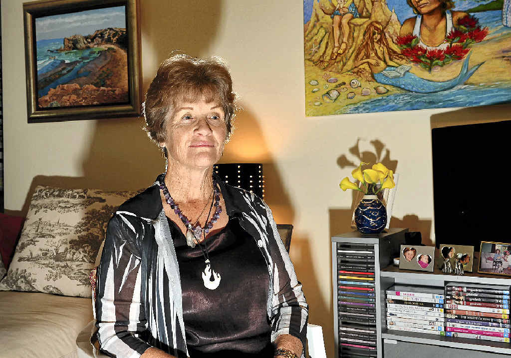 STORY TO TELL: Pomona's Raewyn Harlum has written two books about her psychic experiences and her life.