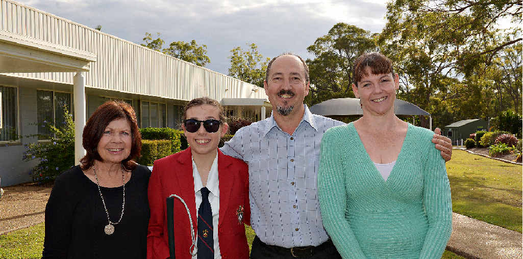 OPTIONS DAY: Georgina Markwell, Rebecca Markwell, Dave Facer and Chantel Wolfenden are taking part in Options Day, an opportunity to share stories, experiences and talk about people with disability positively.