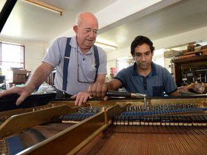 VIDEO: Master's apprentice tunes up for piano surge