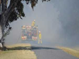 QFES alert for bushfire burning in Swanbank area