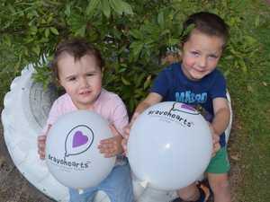 White Balloon Day helping keep kids safe