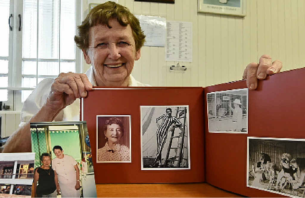 Elsie Whitby reflects on her life.