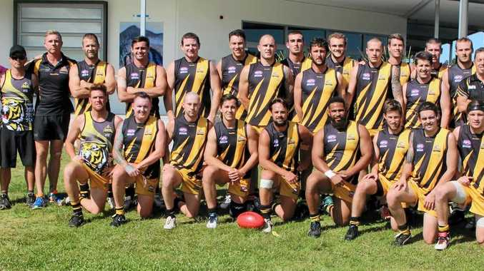 PREMIERSHIP SUCCESS: The Tweed Coast Tigers went from disappointment to elation when the final scores were updated.