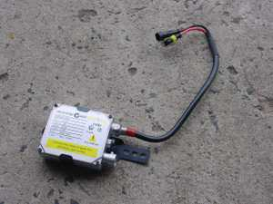 Aftermarket HID upgrade kits require the fitment of an external ballast to regulate voltage